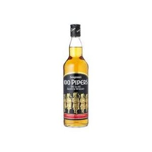 WHISKY 100 PIPPERS 1X750