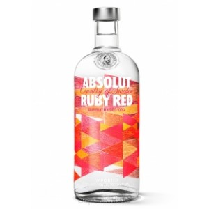 VODKA ABSOLUT  RUBY RED 1X750