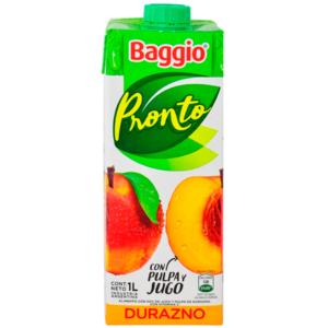 PRONTO BAGGIO DURAZNO 8 X 1L