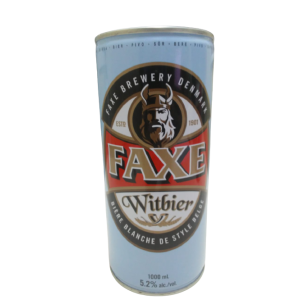 .LATA FAXE WITBIER  X 1L